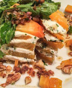 Roasted Beet Napoleon salad