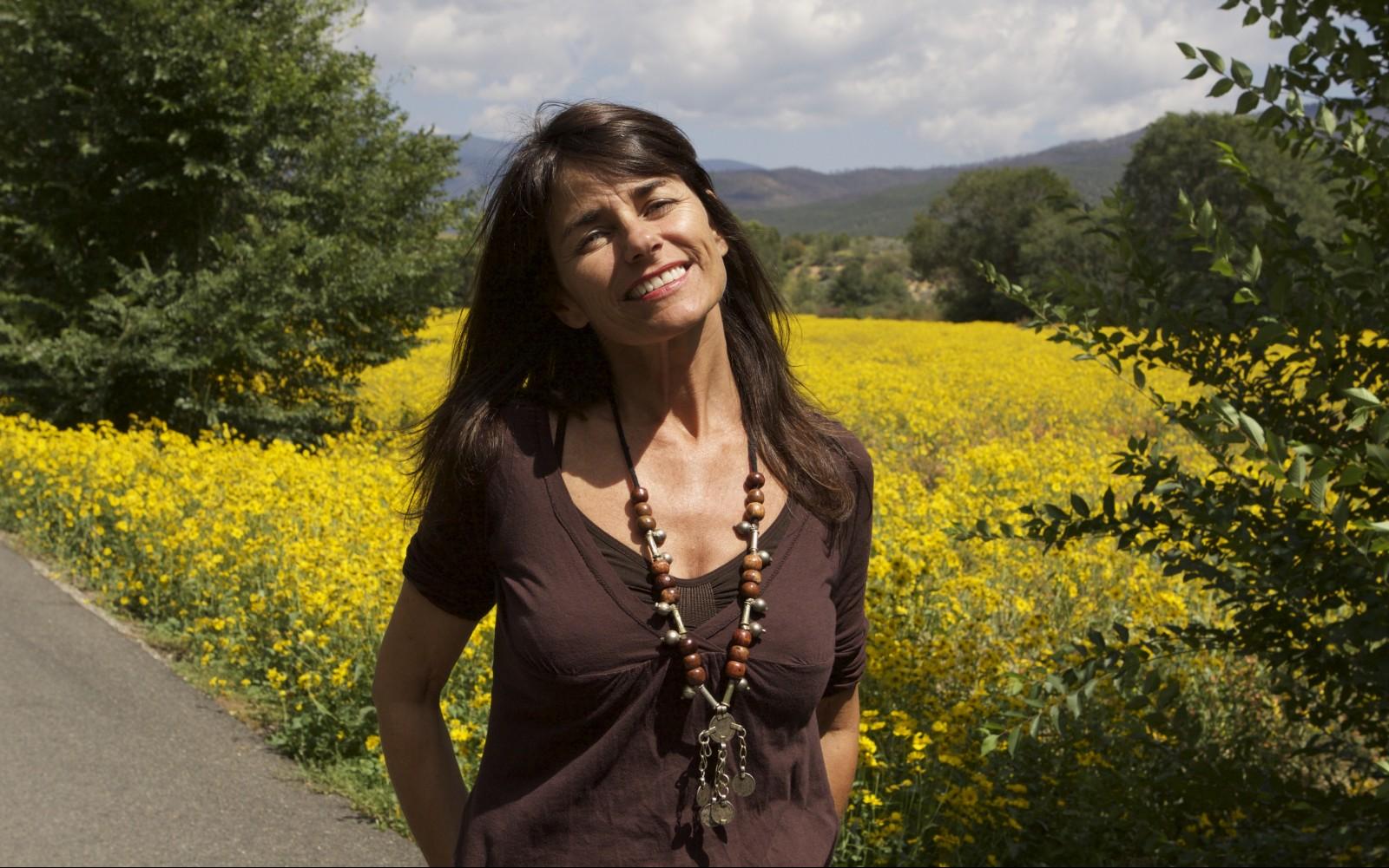 Louise Lowry, Taos, New Mexico. photo by Wm. Stetz