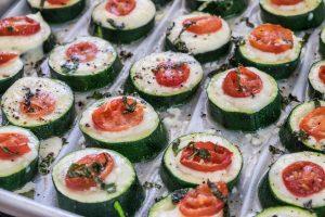Cashel Blue Zucchini bites
