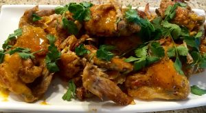Da Bomb Chicken Wings with Curry Lime Butter