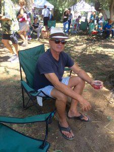 Bill and his Lavender Martini