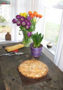 Best Blackberry Apple pie