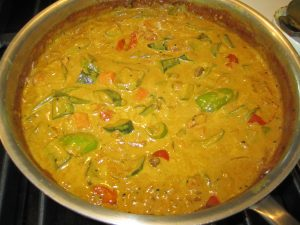 Indian Zucchini Coconut Curry.
